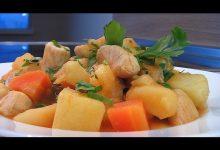 Рагу из курицы и овощей - Кулинарные видео рецепты