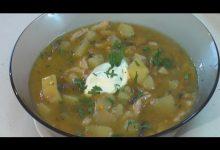 Суп картофельный со свежими грибами - Кулинарные видео рецепты