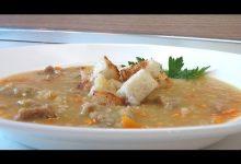 Суп гороховый - Кулинарные видео рецепты