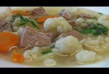 Суп с цветной капустой - Кулинарные видео рецепты