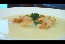 Суп-пюре из картофеля - Кулинарные видео рецепты