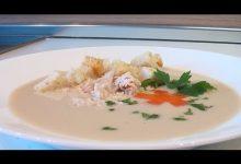 Суп-пюре из курицы - Кулинарные видео рецепты