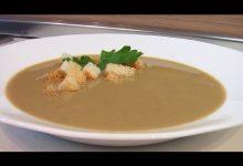 Суп-пюре из печенки - Кулинарные видео рецепты
