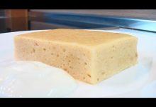 Суфле творожное с печеньем на пару - Кулинарные видео рецепты