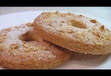 Песочное пирожное с миндалем - Кулинарные видео рецепты
