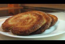 Пирожное «Ушки» из быстрого слоеного теста - Кулинарные видео рецепты