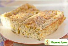 Кекс с кабачками и сыром камамбер