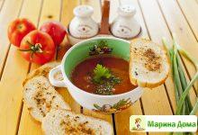 700-й рецепт! Суп фасолевый острый
